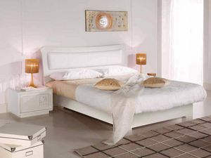 Prima Classe bed, Wooden storage bed