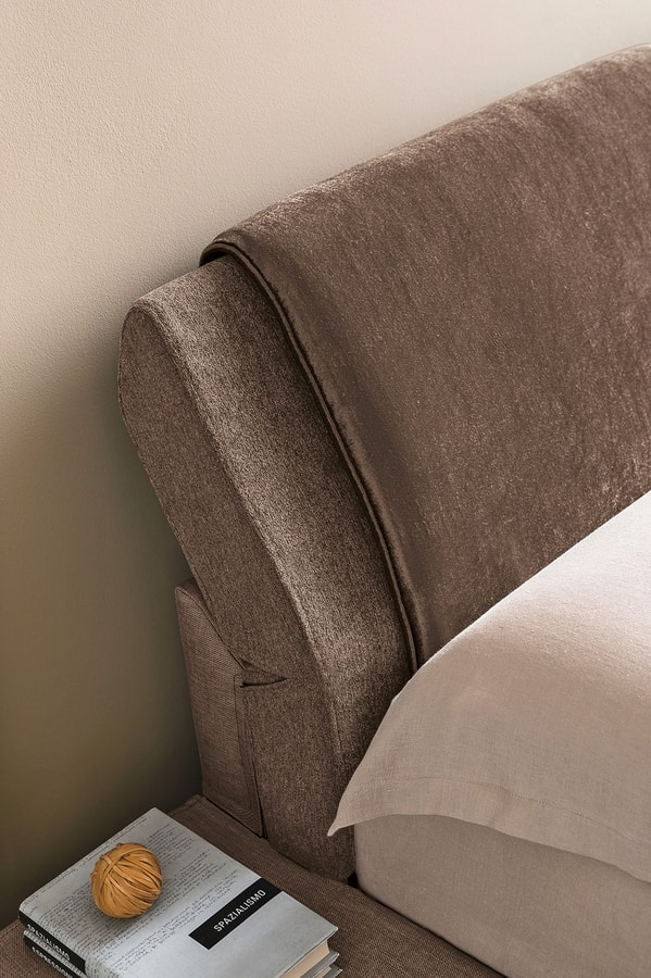 RODI BD465, Bed with reclining pillows