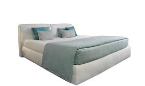 Vico, Modern bed with removable upholstery