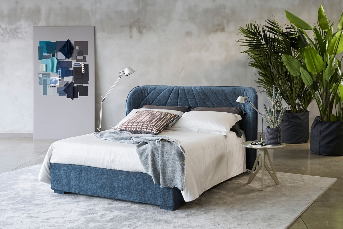 Victoria, Storage bed, with removable upholstery