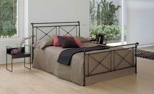 David, Iron bed forged