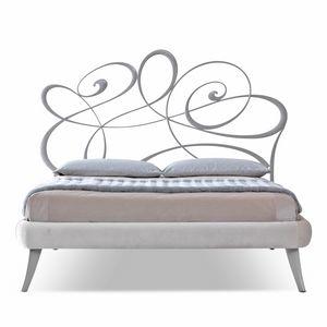 Noemi Art. 951-T, Laser-cut iron bed