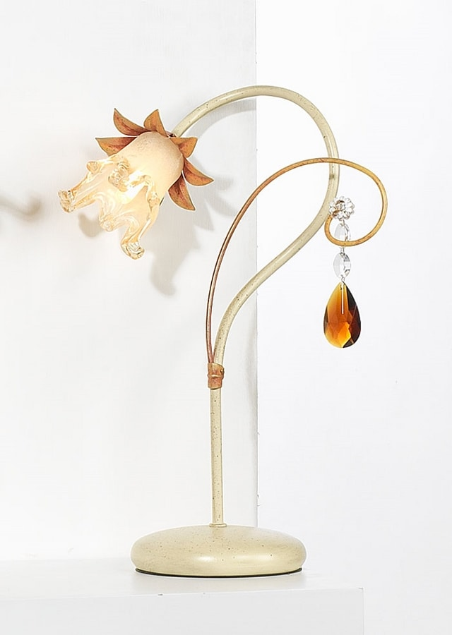 10231, Table lamp with crystal pendulum