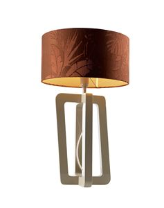 740201 Barnaby, Table lamp with cylindrical lampshade