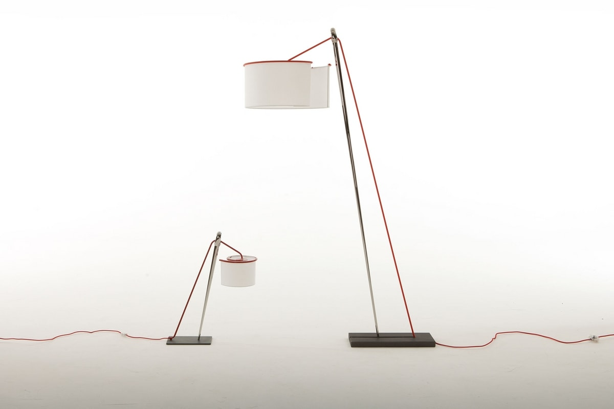 AGO E FILO SMALL, Table lamp, with metal structure