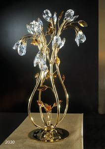 Art. 2030 Matisse, Table lamp with Swarovski crystal decorations