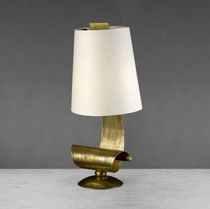 Art. 3010-04-03, Table lamp with iron structure