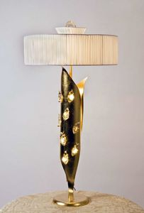 Art. 3012-11-00, Table lamp with silk lampshade