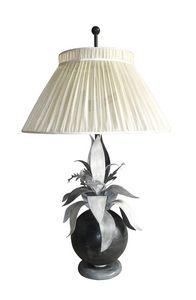 Art. 3020-03-00, Table lamp with silk lampshade