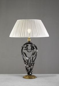 Art. 3098-01-00, Table lamp with iron curls