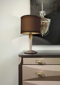 ART. 3360, Table lamp with cylindrical lampshade