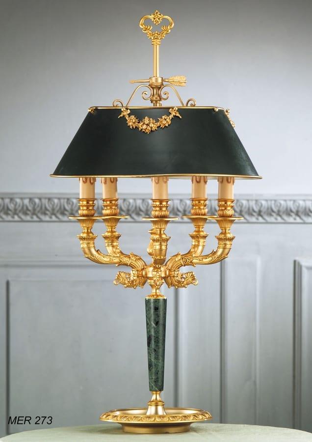 Art. MER 273, Handmade table lamp