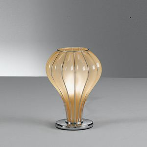 Auriga Rt403-020, Table lamp in amber glass