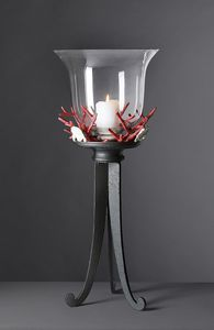 CORALLI HL1048CA, Coral table lamp in iron