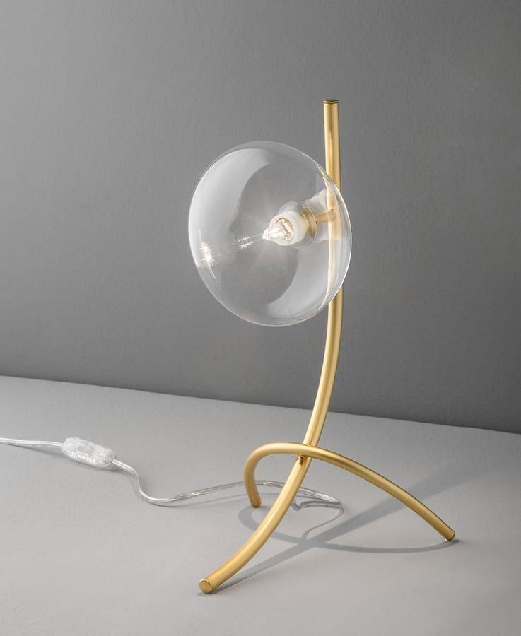DOLCE H 40, Design table lamp, for bedside tables and desks