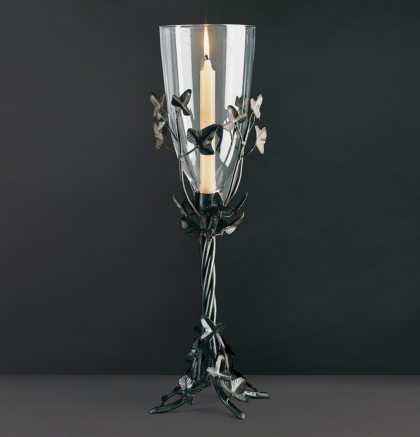 EDERA HL1047TA-CAND, Iron chandelier with leaves
