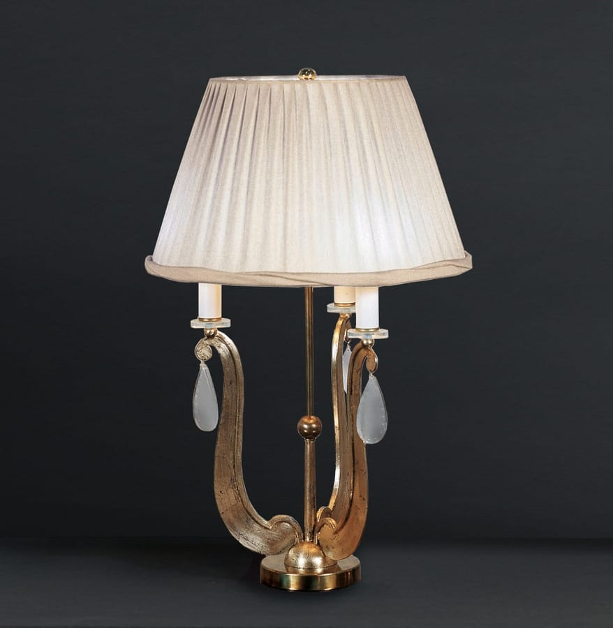 FORMELLE HL1036TA-3, Table lamp with base in ferr