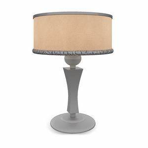 Ginger-Roll Art. 1486-R, Wooden table lamp