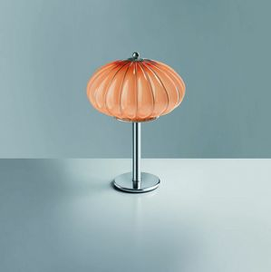 Giove Rt121-045, Table lamp in glass available in various colors