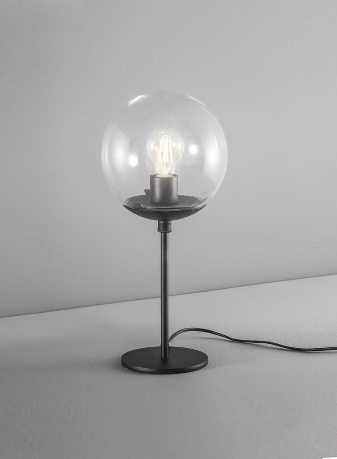 GLOBAL Ø 30/ Ø 20, Table lamp with acrylic sphere