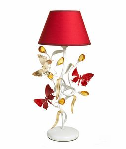 Julia LU/1, Table lamp with decorative butterflies