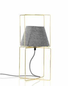 Kengo, Table lamp with fabric lampshade