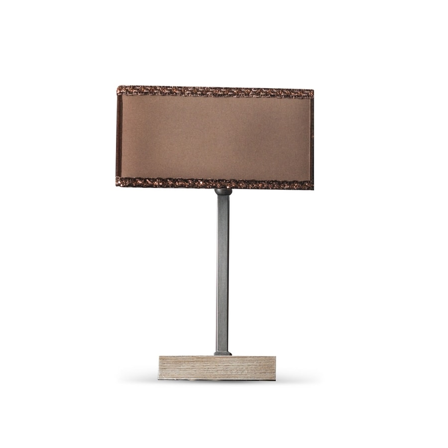 Keope Art. 1482, Table lamp with square lampshade