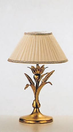 LP.5320/1/B, Table lamp with gold leaf finish
