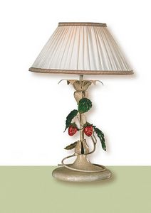 LP.8335/1/B, Table lamp with fabric shade