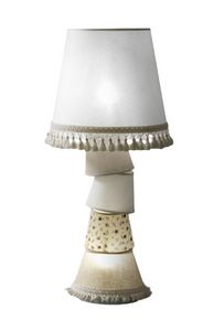 Marg� M5638B, Abat-jour with structure covered with lampshades of various sizes and fantasies