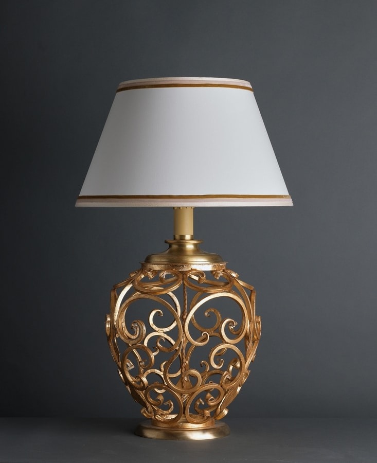 ORCIO HL1030TA-1, Table lamp with decorated base