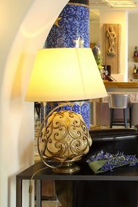 ORCIO HL1030TA-1GL, Table lamp with fabric shade