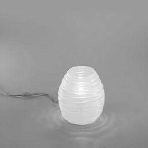 Sydney Lt607-025, Table lamp in amber or white glass