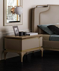 Alexander Art. A86, Bedside table with a contemporary design