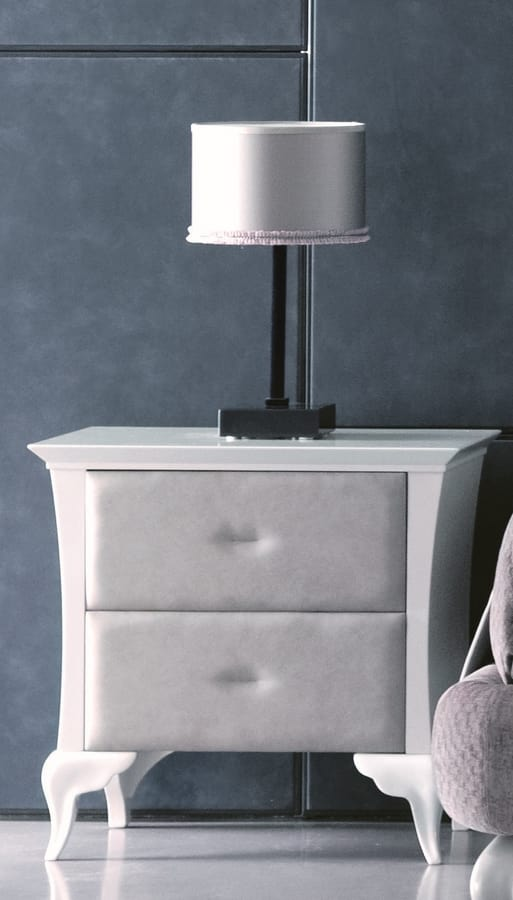 Alice / Alice Soft Art. 417, Bedside table with harmonious proportions