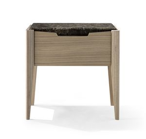 AN 731 M, Bedside table with a refined line