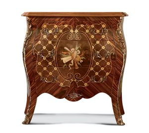 Art. 686, Bedside table inlaid