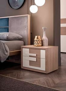 Aurea, Wooden bedside table