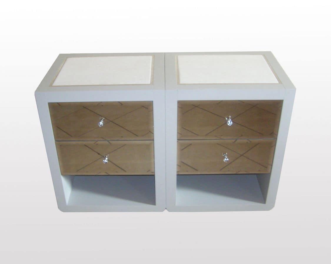 Brian, Bedside tables for elegant bedrooms