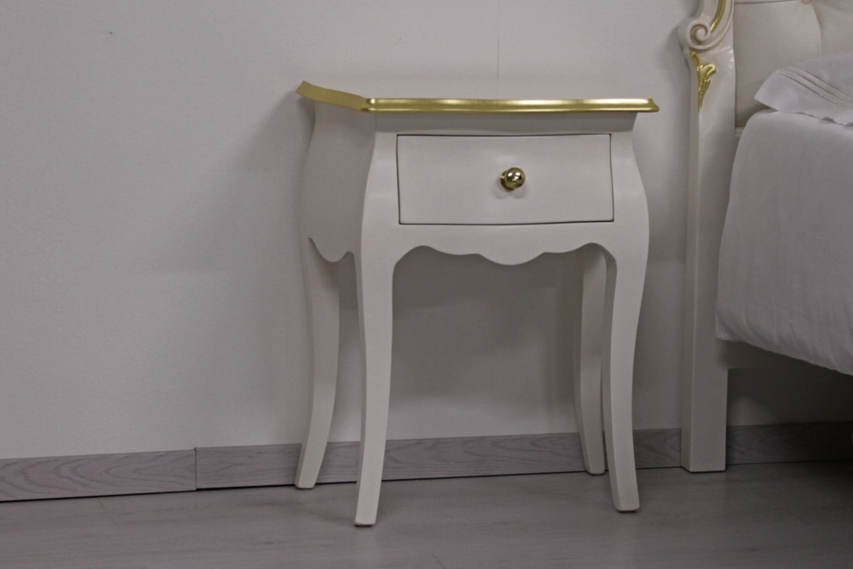 Butterfly nightstand, Bedside table in Stylized Baroque style