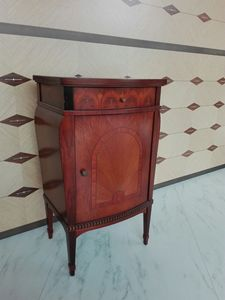 C228 Rosatea nightstand, Classic style bedside table at outlet price