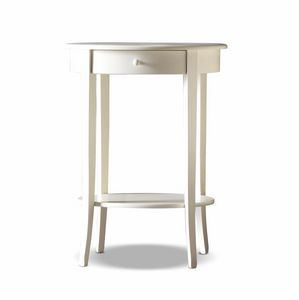 Camelot Art. 441, Bedside table with oval top