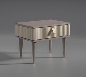 Cocoon Art. C309, Simple but elegant bedside table