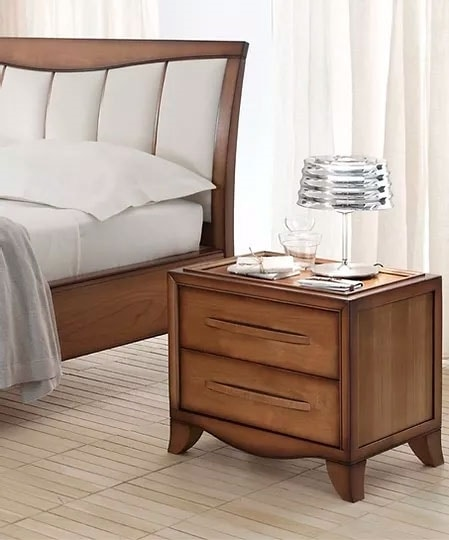 Cristina, Bedside table with 2 drawers