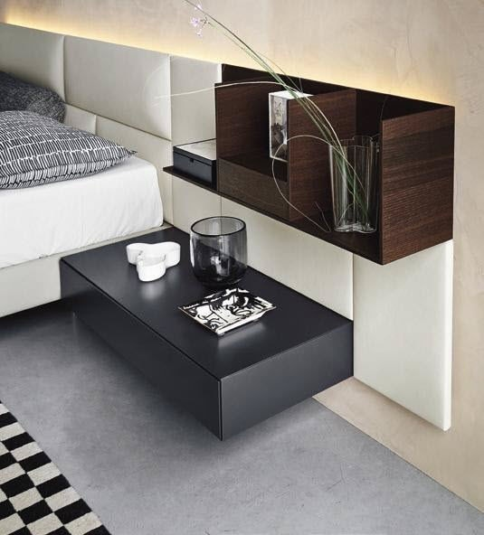Ecletto, Customizable hanging bedside tables