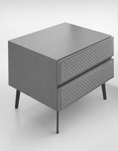Eos Art. E0010-G, Bedside table with quilted front