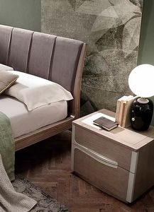 Even, Bedside table with a minimal design