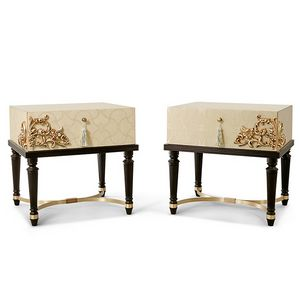 FLORA / nightstand, Contemporary luxury bedside table