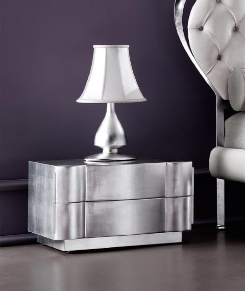 Leon Art. 494, Bedside table with a modern line