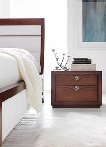 Linda, Bedside table with 2 or 3 drawers